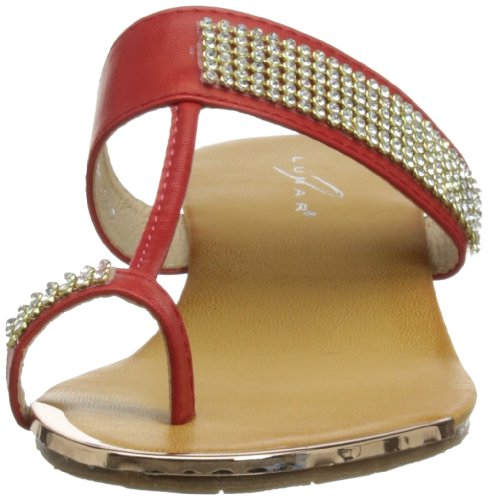 Griffith Park Jlh609 - Sandalias de vestir Mujer Red