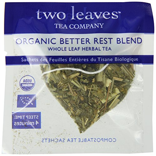 Two Leaves and a Bud Organic Better Rest Blend Herbal Tea, 100-Count