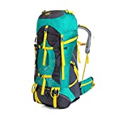 Masalong Waterproof Ultralight Internal Frame Backpack TCS Bearing System for Camping Hiking Mountaineering 75L (Green) Review