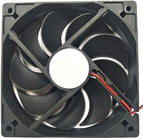 Hihey Ventilador de Caja de PC RGB LED Ventilador de 12 cm Caja de ...