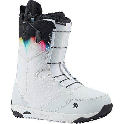 Burton Limelight Snowboard Boot - Women's White/Spectrum, 9.0 ()