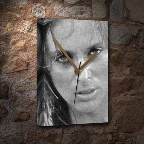 SYBIL DANNING - Canvas Clock (LARGE A3 - Signed by the Artist) #js001 ()