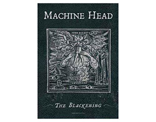 (NNG Machine Head - The Blackening - Textile Poster Flag)