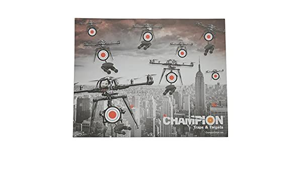 Champion Traps /& Targets 12 Pack Drone Paper Shooting Targets