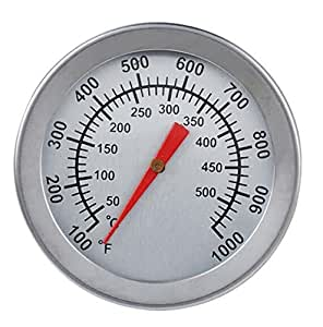 Cooking Thermometers Stainless Steel BBQ Grill Smoker Thermometer Gauge Barbecue Cooking Grill Tools