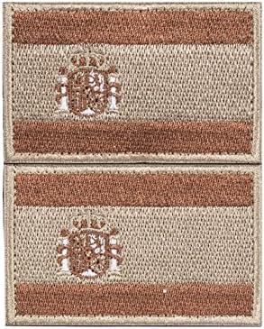 Parche España Velcro 2 Parches Velcro x España Bandera Táctico ...