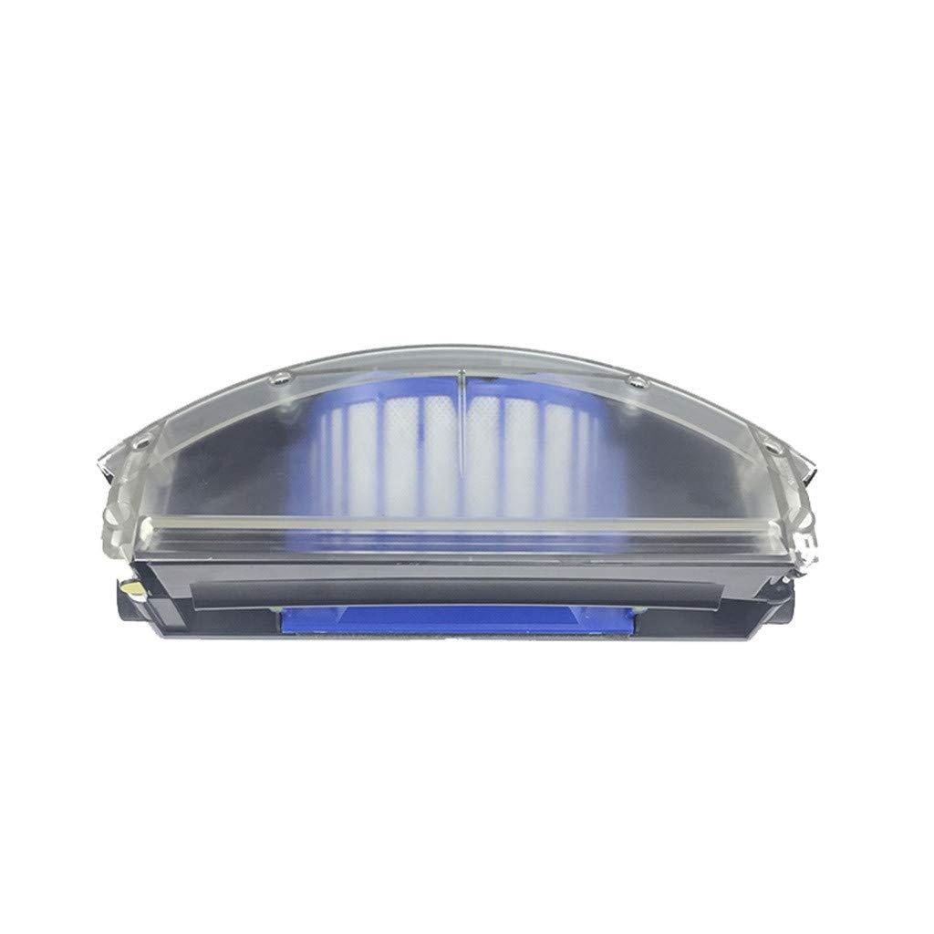 Webla Accessori per aspirapolvere,Accessori per la sostituzione dei cestini per aspirapolvere Per Irobot Roomba serie 500//600,Nero