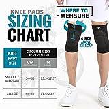 Bodyprox Protective Knee Pads, Thick Sponge