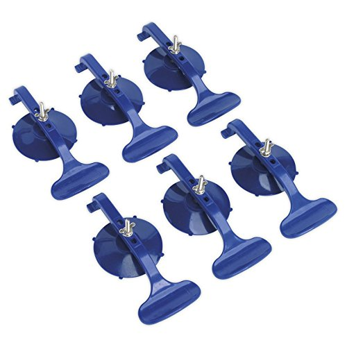 (RE006 Sealey Suction Clamp Set 6pc [Preparation])