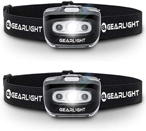 GearLight Headlamp Flashlight S500 PACK