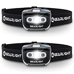 GearLight S 500 LED Headlamps [Multipack] This compact and practical head mounted flashlight is the ideal hands-free light for marathon runners, joggers, campers, or do-it-yourself hobbyists. Portable and small, this head torch is convenient ...