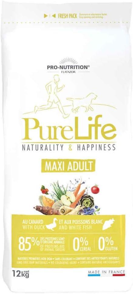 Pro nutrition Flatazor – Pure Life Maxi adulto 12 kg: Amazon.es: Hogar