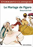 Front cover for the book Le mariage de Figaro by Pierre-Augustin Caron de Beaumarchais