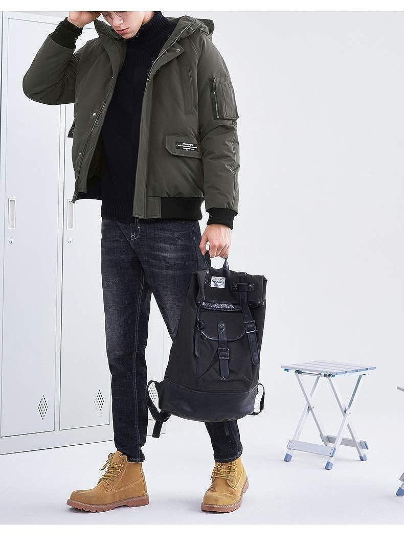 KBY-MM Veste d'hiver - Vêtements De Mode Manteau Épais Chaud pour Les Hommes Parka De Haute Qualité pour Les Hommes Gardez La Veste Manteau Chaud Green