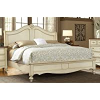 American Woodcrafters Chateau Sleigh Bed, King