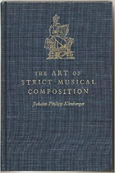 The art of strict musical composition die kunst des for The craft of musical composition