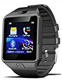 SKYNDI GT08 One Bluetooth Phone Smart Wrist Watch Phone with NFC and GSM Standalone Function - iPhone/Android Compatible - Black