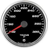 Speedhut GR33-TT02 Trans Temp Gauge 140-300F (With Warning LED), 3-3/8''