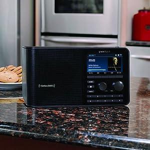 SiriusXM TTR2 Sound Station - Internet radio by Grace Digital