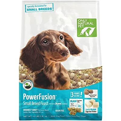 Only Natural Pet PowerFusion Raw Infuse Small Breed Dog Food