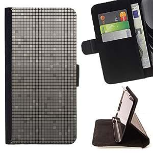 BullDog Case - FOR/Apple Iphone 5 / 5S / - / Simple Pattern 33 /- Monedero de cuero de la PU Llevar cubierta de la caja con el ID Credit Card Slots Flip funda de cuer