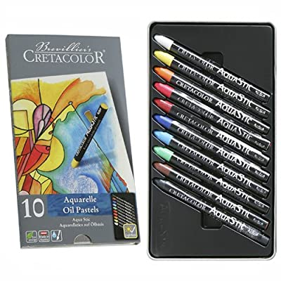 Cretacolor AquaStic Oil Pastel Sets assorted set of 10