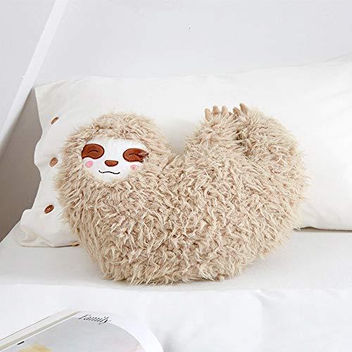 Huhu Ma 16'' Off-White Plush Toys Sloth Plush Pillow Present