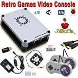 RetroBox - Raspberry Pi 3 Based Retro Game Console, 32GB Edition with Heatsinks Installed and Cooling Fan, RetroPie