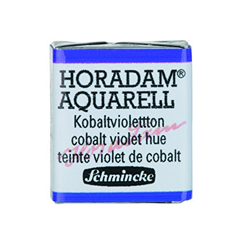 Schmincke Horadam Artists Watercolours Cobalt Violet Hue Half Pan (Series 3) (473)