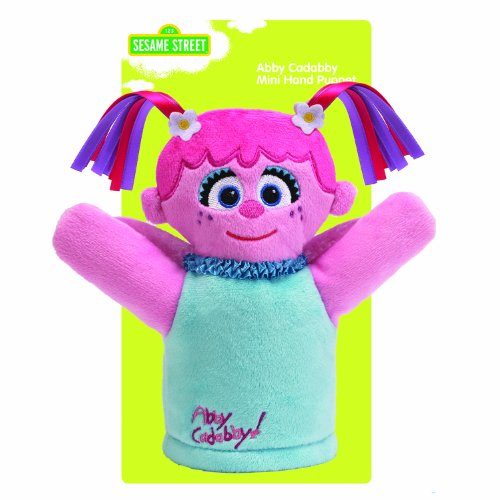 Gund Sesame Street Abby Cadabby Baby Puppet
