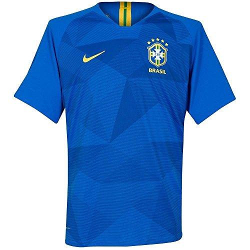 Shirt Nike Away (NIKE 2018-2019 Brazil Away Football Shirt (Kids))