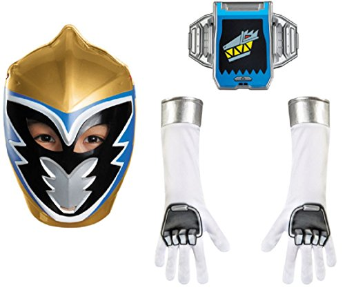[Disguise Gold Ranger Dino Charge Child Accessory Kit Costume] (Power Rangers Masks)