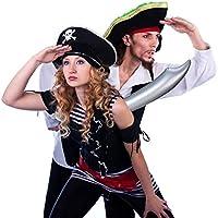 Relaxdays- Espada Pirata Hinchable, Multicolor, 67 cm (10024266 ...