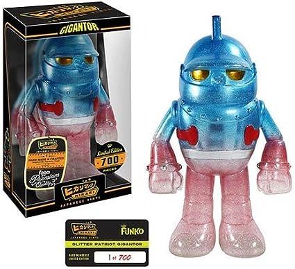 Amazon Com Gigantor Patriot Premium Hikari Sofubi Vinyl Figure Toys Games