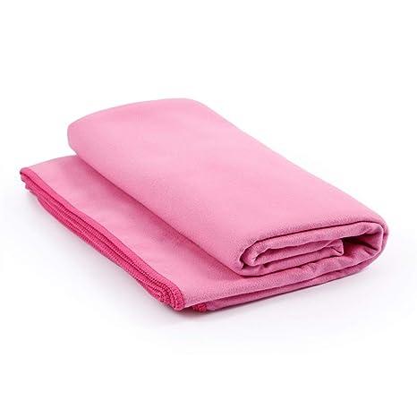 Delicacydex 183x61cm Toalla de Microfibra de Yoga Compacto Suave Absorbente Secado rápido Toallas Deportivas para viajeros