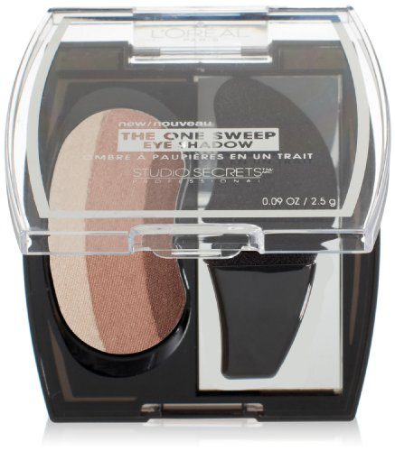 L'Oreal Paris Studio Secrets Professional The One Sweep Eye Shadow, Natural for Blue Eyes, 0.09 Ounces