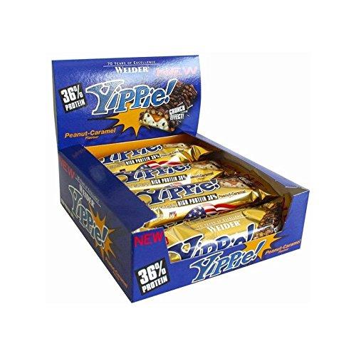Weider Yippie - 12 Barritas x 70 gr Cookies - Double Choc: Amazon.es: Alimentación y bebidas