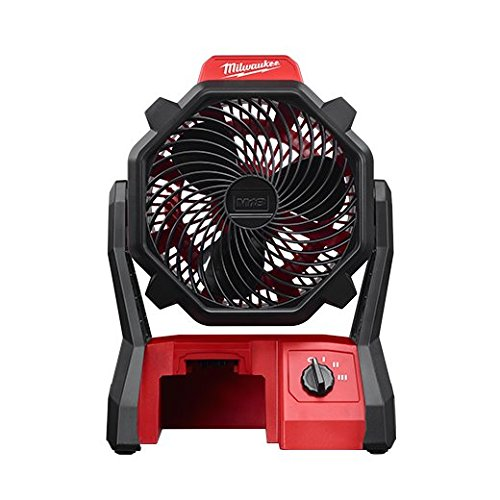 Job Site Fan Milwaukee Batteries 0886-20 045242351138