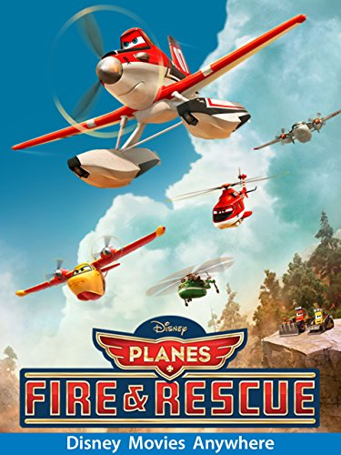 Planes: Fire & Rescue (plus bonus (Firefighter Movies For Kids)