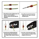 Wire Crimping Tool,Knoweasy Open Barrel Wire