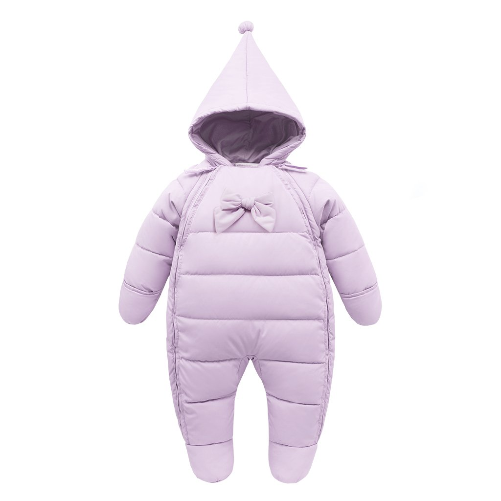 Baby Snowsuits Hooded Rompers Infant Thick Down Onesies Footed Jumpsuit Winter Outwear Outfits CQBMY003V