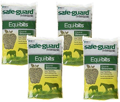 (4 Pack) Intervet Safeguard Dewormer Pellets for Horses, 1.25-Pound each by Intervet (Image #3)