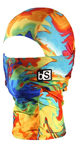 BlackStrap Kids Balaclava Hood, Tie Dye (Multi Snow Full Face Helmets)