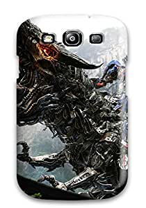 2778824K91551371 New Arrival Optimus Prime On Dinobot For Galaxy S3 Case Cover