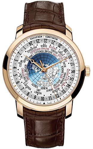 vacherone-traditionnelle-world-time-mens-brown-leather-strap-rose-gold-automatic-swiss-watch-86060-0