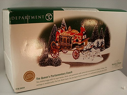 Dept. 56 Queens Parliamentary Coach