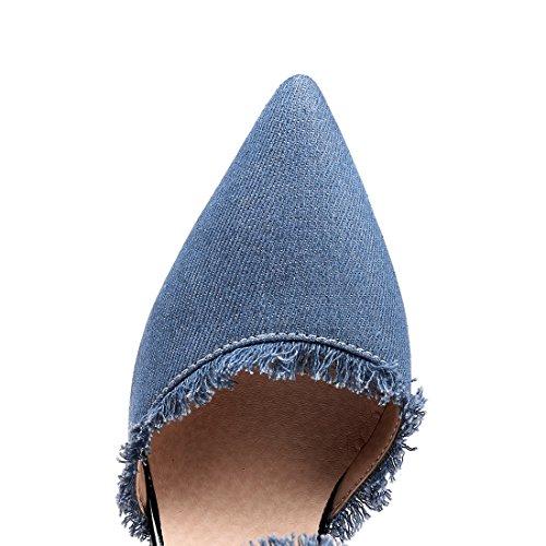 Tira Vaquero UH Mujer de Tobillo de claro azul ORZwx