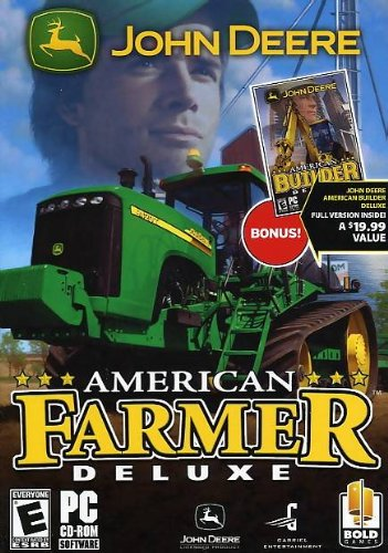 Amazon Com John Deere American Farmer Deluxe John Deere American Builder Deluxe Pc Video Games