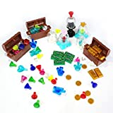Best Toys Compatible With LEGOs - Treasure Set Compatible for LEGO Chest Diamonds Ore Review