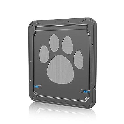 Gwendoll Cierre automático de Mascotas Perros Gatos Puertas ...